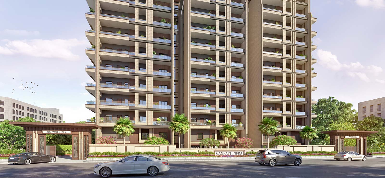 Apartments by Ganapti Infra