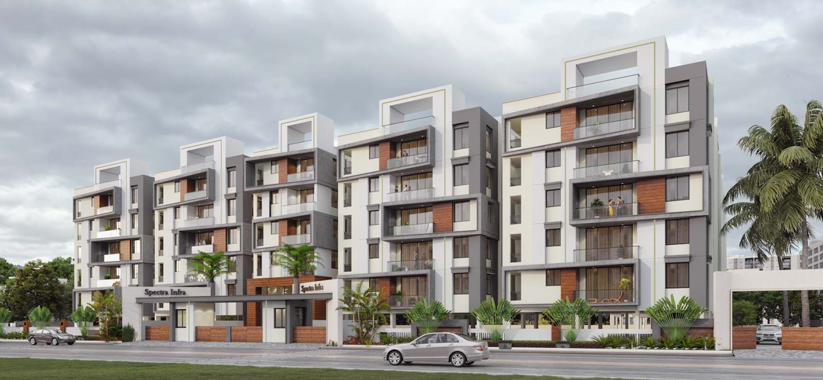 Apartments by Spectra Infra