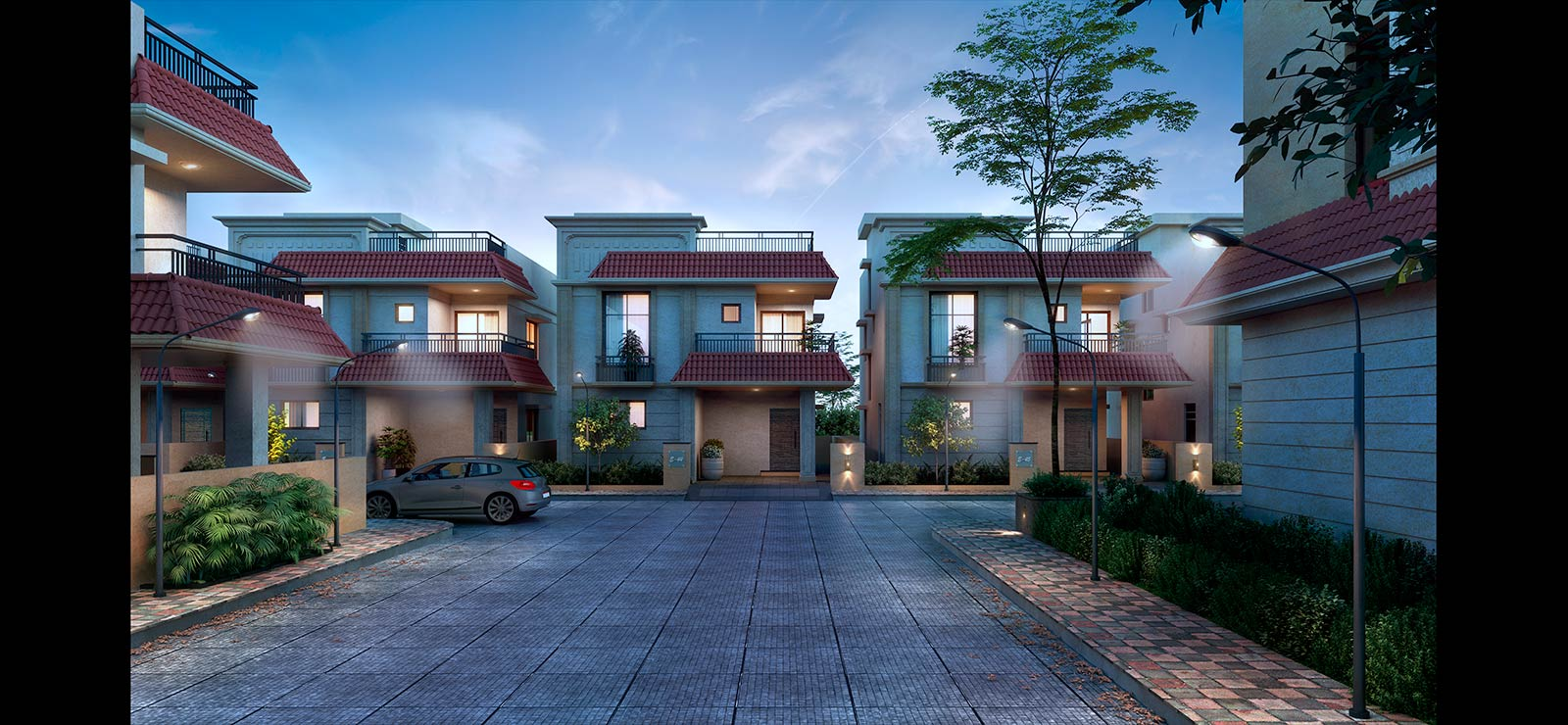 Gated Community BY C.R Homes